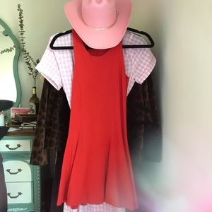 Topshop Red Mini